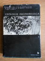 Ion Bancila - Geologie inginereasca (volumul 1)