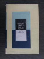 Ion Banu - Filosofia greaca pana la Platon (volumul 2, partea a doua)