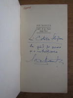 Ion Banuta - Copiii de pe Arges dupa flori (cu autograful autorului)