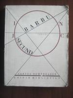 Ion Barbu - Joc secund. Editie bibliofila
