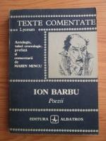 Ion Barbu - Poezii (texte comentate)