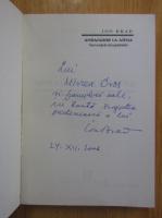 Anticariat: Ion Brad - Ambasador la Atena (cu autograful si dedicatia autorului)