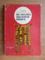 Ion Bradu - Din folclorul obiceiurilor bihorene