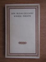 Ion Budai Deleanu - Scrieri indedite