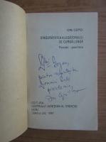 Anticariat: Ion Cepoi - Singuratatea alegatorului de cursa lunga (cu autograful autorului)
