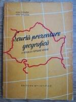 Ion Conea, Ion Velcea - Scurta prezentare geografica a republicii populare romane