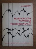 Ion Coteanu - Morfologia numelui in protoromana