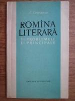 Anticariat: Ion Coteanu - Romana literara si problemele ei principale