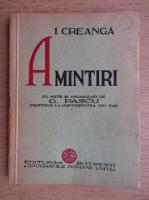 Ion Creanga - Amintiri (1934)