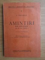 Ion Creanga - Amintiri din copilarie si de mai tarziu (volumul 2, 1939)