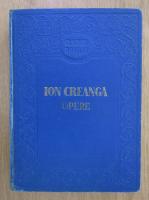 Ion Creanga - Opere