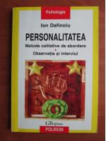 Anticariat: Ion Dafinoiu - Personalitatea
