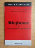 Anticariat: Ion Dragan - Dictionar de orientare scolara si profesionala