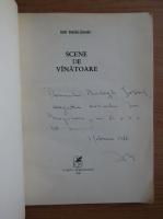 Anticariat: Ion Draganoiu - Scene de vanatoare (cu autograful autorului)