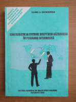 Ion Dragoman - Contributii la studiul dreptului razboiului in perioada interbelica