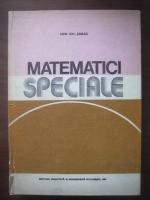 Ion Gh. Sabac - Matematici speciale (volumul 1)