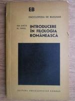Anticariat: Ion Ghetie - Introducere in filologia romaneasca