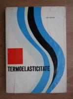 Anticariat: Ion Grindei - Termoelasticitate