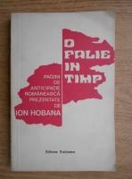 Anticariat: Ion Hobana - O falie in timp. Pagini de anticipatie romaneasca