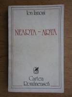 Anticariat: Ion Ianosi - Nearta Arta (volumul 1)