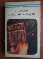 Ion Luca Caragiale - O faclie de Paste (nuvele si povestiri)