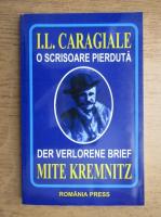 Ion Luca Caragiale - O scrisoare pierduta (editie bilingva romana-germana)