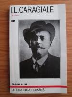 Ion Luca Caragiale - Teatru. Pagini alese
