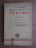 Ion Luca Caragiale - Teatru (volumul 1, 1940)