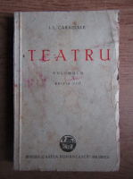 Anticariat: Ion Luca Caragiale - Teatru (volumul 2, 1945)