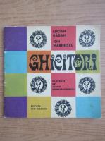 Anticariat: Ion Marinescu - Ghicitori ilustrate de Ioana Constantinescu