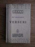 Ion Minulescu - Versuri (1939)