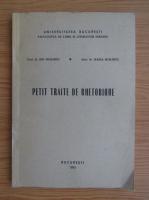 Anticariat: Ion Muraret - Petit traite de rhetorique