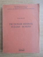 Anticariat: Ion Neata - Dictionar minimal italian-roman