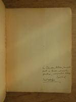 Ion Ojog - Amurguri vechi (cu autograful autorului, 1947)