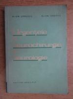 Anticariat: Ion Oprescu - Urgentele in neurochirurgie si neurologie