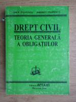 Ion P. Filipescu - Drept civil. Teoria generala a obligatiilor