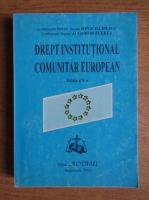 Anticariat: Ion P. Filipescu - Drept institutional comunitar european