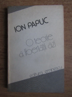 Anticariat: Ion Papuc - O teorie a libertatii azi