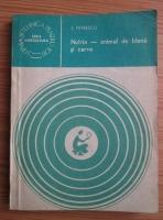 Anticariat: Ion Petrescu - Nutria, animal de blana si carne