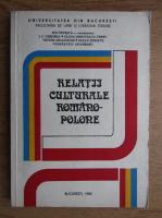 Ion Petrica - Relatii culturale romano-polone