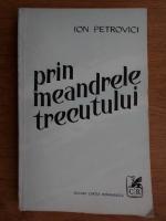 Anticariat: Ion Petrovici - Prin meandrele trecutului