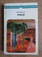 Anticariat: Ion Pillat - Poezii