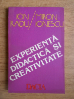 Ion Radu - Experienta didactica si creativitate