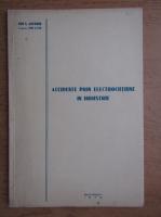 Anticariat: Ion S. Antoniu - Accidente prin electrocutiune in industrie (1932)