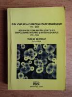 Anticariat: Ion Savu - Bibliografia chimiei militare romanesti