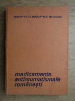 Anticariat: Ion Stroescu, Eugenia Manolescu - Medicamente antireumatismale romanesti