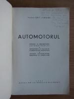 Anticariat: Ion T. Cudalbu - Automotorul (cu autograful autorului, 1946)