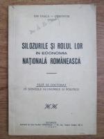 Anticariat: Ion Tasca Durostor - Silozurile si rolul lor in economia nationala romaneasca (1942)