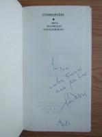 Anticariat: Ion Tobosaru - Consemnari. Arta teatrului contemporan (cu autograful autorului)
