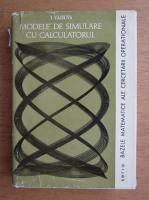Ion Vaduva - Modele de simulare cu calculatorul